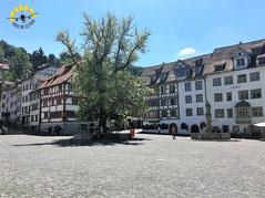 Durch die Stadt der 111 Erker. Ein Stadtspaziergang durch St. Gallen.