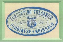 Timbro bandella di Piodina ca. 1920 Collezione Giordano Branca