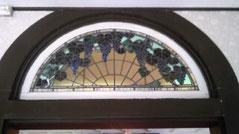 「ブドウ」のステンドグラス