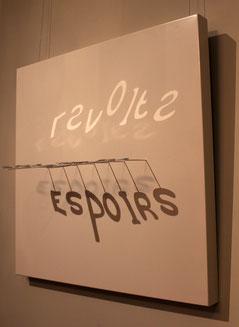 Révolte, installation, 2012