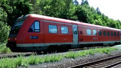 Bahnreisen ins Fichtelgebirge in Bayern
