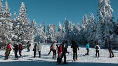 Skiurlaub - Winterurlaub im Naturpark Fichtelgebirge