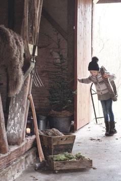 Weihnachten findet auch draußen statt. Ein hyggeliges Fest mit Deko von Ib Laursen - Sternschnuppe home & garden, Eichelhardt