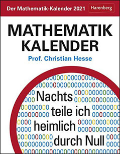 Mathematik-Kalender 2021, Christian Hesse