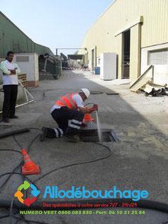 Debouchage canalisation pompe manuelle 34