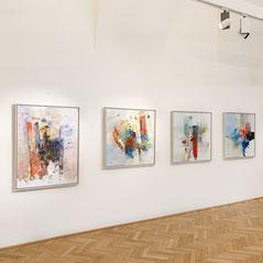 Sinasi Bozatli, Ausstellung 2020 in der galerie artziwna in Wien