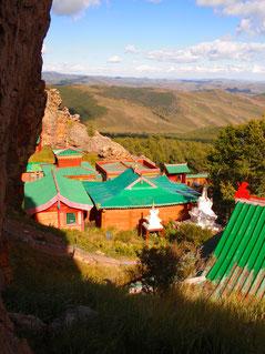 Le monastère Tuvkhun au nord de l'Orkhon
