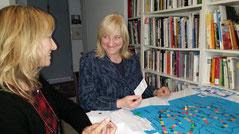 Landesjustizministerin von Hessen, Eva Kühne-Hörmann  und Gabriella Hünnekens, LiD-Team
