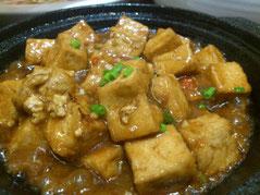 日本人のお口にも合います「农家豆腐煲」