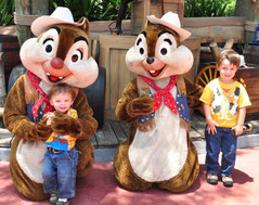 Jack, Henry, Chip and Dale
