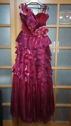 Miyukiさんのドレスはこんな感じ
