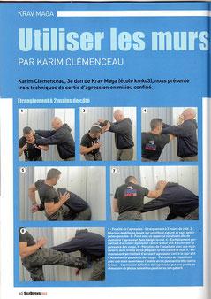 karim clémenceau 2016 self défense mag