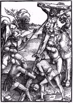 De kruisiging - Hans Baldung Grien