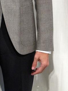 manches veste longueur idéale