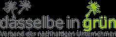 dasselbe-in-grün e.V. Logo