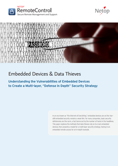 Embedded Devices & Data Theft