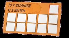 Treuekarte Ponyhof Schanze