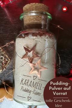Puddingpulver auf Vorrat #pudding #adventskalender #geschenke #thermomixrezept #orgaBine