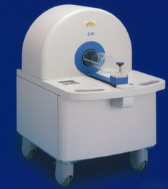 Laboratory animal X-ray CT device (LCT-100, Hitachi-Alloca Medical)