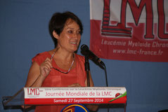 Conference LMC France Patients experts regards croisés 27 Septembre 2014 TIMONE MARSEILLE LEUCEMIE MYELOIDE CHRONIQUE JOURNEE MONDIALE WORLD CML DAY