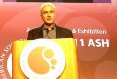 ASH 2011 Professeur Neil Shah LMC leucemie guerison cancer traitement espoir lmc leucémie myéloïde chronique leucemie aigue sang moelle greffe