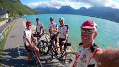 Tour du lac d'Annecy par la piste cyclable