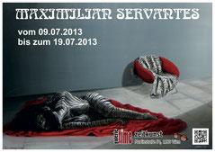 Maximilian Servantes Galerie Time Kunst Vernissage Wachtl
