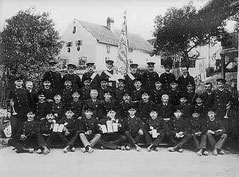 Fahnenweihe 1907