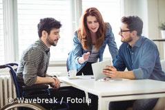 Foto - Arbeitsgruppe von jungen Menschen