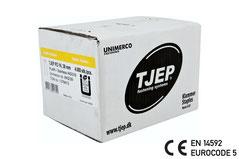 Tjep Klammer PZ-16/38 Edelstahl A4 CE EN 14592 Eurocode 5