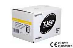 Tjep Klammer PZ-16/64 Edelstahl A4 CE EN 14592 Eurocode 5