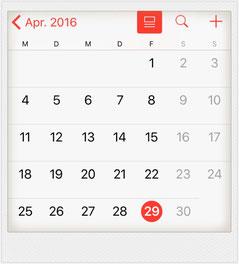 Monatsüberblick April - mycleanlife