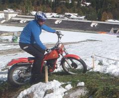 Klassik-Trial-Motor im AC GAP: Florian Dreher, Image: E. Diestinger, 2013
