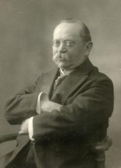 Verlagsgründer Julius Neumann (21. September 1844 bis 30. Mai 1928)