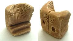 Ancient Menorah, Temple, sundial, King Herod, Temple Jerusalem, Israel, golden lampstand