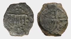 Mattathias Antigonos Mattatayah menorah coin 40-37 BE BCE Judaea Menorah Jerusalem