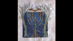 Cervera Bible Menorah 1299-1300 AD CE Zechariahs vision