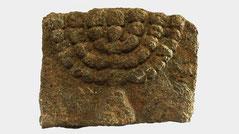 Ancient Holy Land menorah stone BC