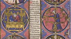 Bible moralisée menorah Paris medieval
