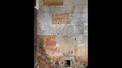 Medieval menorah mural paintings, St. Peter's Church Benedictine Monastery Germany