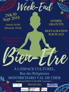 Salon bien-être de Montrichard - avril 2017 - annuaire de thérapeutes Via Energetica
