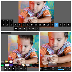 Pixlr Express, Very simple and intuitive UI