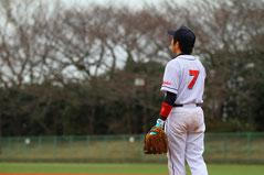草野球チーム アロハ 主将 キャプテン 洞田