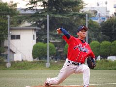 草野球チーム アロハ 投手 吉松