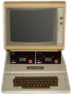 Der Apple II (Foto: www.allaboutapple.com, Lizenz: CC-BY-SA-2.5-IT)