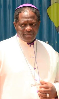 Bishop Charles M. Muturi fired 8 CHC social workers for getting them off his Nairobi diocese's payroll  -  photo: Dr. Michael Otto