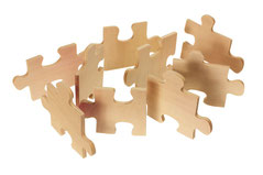 Holzpuzzle - Trainings und Workshops