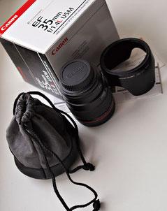 Canon 35/1.4L тест обзор