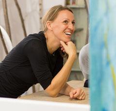 Atelier Jana Martin, Bildende Kunst, Künstlerin, Malerei, Incentive Arts, Coaching, Foto Daniel Pufe
