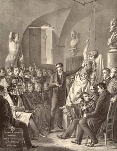 Turín, 1837-39. Litografía. Biblioteca nacional de medicina.